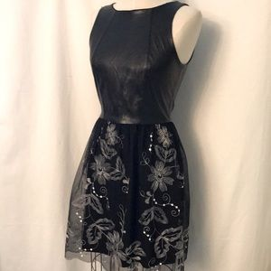 Vtg LOVE…ADY Dress Made in USA Sz M Lacey Look